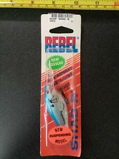 New Old Stock Vintage Rebel Suspending Shad R Fishing Lure