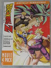 Dragon Ball Z: Film Pack Collection Deux 2 (Films 6-9) - DVD Coffret - Scellé