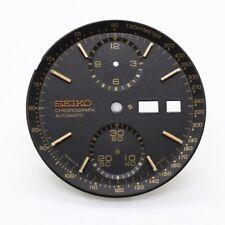 Original Beautiful Seiko 6138-8050 Jumbo Black Dial Very Rare W/ Inner Ring