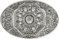 Cook Islands 2014 5$ Nano Florence Cathedral Ceilings Heaven Silver Coin 999ONLY