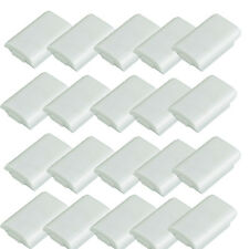 20X White Battery Pack Case Cover Shell KIT for Xbox 360 Xbox360 Controller