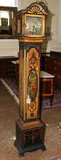 Very Rare Hand-Painted English 5 Tube Musical Grandmothers Clock German Movt WOW