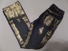 Enyce Women's Jeans Size-29 Boot Cut Zipper Fly Blue 100% Cotton