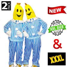2 PACK Bananas in Pyjamas Mens Womens Halloween Party Costume B1 B2 Plus Sizes