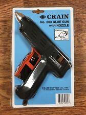 Crain 203 Glue Gun with Nozzle, 80 Watts