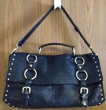 Black Studded Fashionable Shoulder Bag Handbag in Great Condition