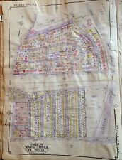 ORIGINAL 1949 E. BELCHER HYDE ATLAS MAP BAYSIDE QUEENS NEW YORK