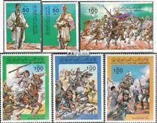 Libië 1405-1410 (compleet.Kwestie.) postfris MNH 1984 Uitzetting gegnerischer Tr