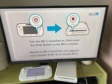 Nintendo Wii U Basic Set 8GB Handheld System - White (WUPSWAAB)