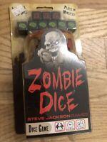 Zombie Dice Game Fun Family Steve Jackson Quick Party New Fun