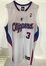 Los Angeles La Clippers Chris Paul Cp3 Mens White Adidas Swingman Jersey Size 52