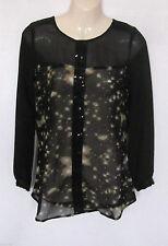 Wallis Chiffon Long Sleeve Tops & Shirts for Women