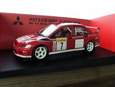1:18 Autoart Mitsubishi Lancer EVO VII WRC Car MEGA RARE LOOK!!!