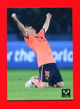 MESSI OFFICIAL CARD - Barcellona Card Icons - n. 20 - FIFA CLUB WORLD CUP -New