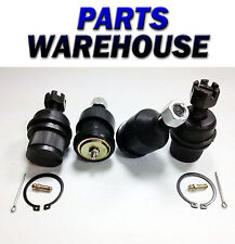 4 Pc Kit 2 Lower 2 Upper Ball Joints For 05 Dodge Ram 2500 4Wd 1 Year Warranty