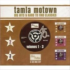 Tamla Motown: Big Hits & Hard to Find Classics, Vols. 1-3 by Various Artists...
