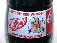 Detroit Red Wings 97 Stanley Cup Coca-Cola Coke Bottle