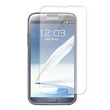 Samsung Galaxy Note 2 N7100 1x film de protection semi rigide + chiffon doux