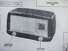 GAROD 5A3 RADIO PHOTOFACT