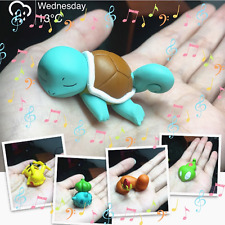 5pc Bulbasaur Squirtle Pikachu Sleeping Figures Toy Micro Landscape Doll Pokemon