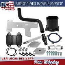 Egr Cooler & Throttle Valve Delete Kit 10-14 Dodge Ram 2500 3500 6.7L Cummins Us