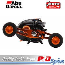 Abu Garcia Orange Max Baitcaster Reel - Power-knob Handle and 7kg Drag