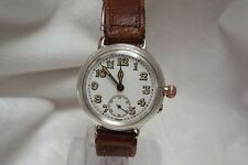 1 Gents Vintage International Watch Co Cal. IWC 64 Officers Trench Wrist Watch