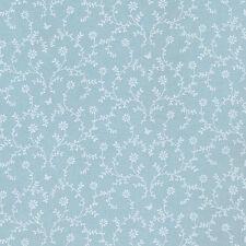 AU MAISON Wachstuch Claire Claire Aqua Sky blau beschichtete Baumwolle 0,5 Meter