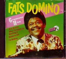 Fats Domino Greatest hits (18 tracks) [CD]