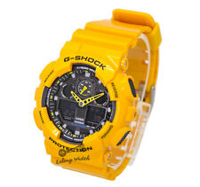 -Casio G-Shock GA100A-9A Watch Brand New & 100% Authentic