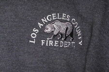 """LA Co Fire Department"" Sweatshirt Embroidered Firefighter Item –XL"