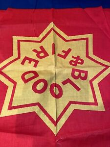 Rare Vintage Salvation Army Flag Blood And Fire