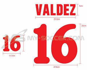 MEXICO AWAY World Cup 1994 REPRODUCTION VELVET FLOCK Name Number