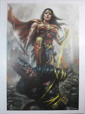 "DCEASED #1 (WONDER WOMAN) ART PRINT by Lucio Parrillo ~ 12"" x 16"" ~ DC Comics"