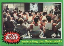 1977 Topps Star Wars Card #227 Instructing the Rebel pilots MINT Condition