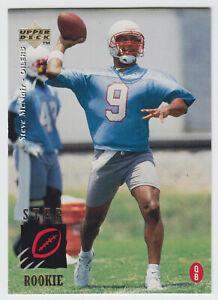 1995 Upper Deck - Steve McNair - #3 - Houston Oilers - Rookie Card - NrMt+