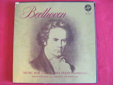 BEETHOVEN - MUSIC FOR CELLO & PIANO (COMPLETE) 3 LP SET - VOX BOX #8