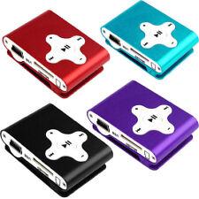 Mini reproductor Mp3 clip para Micro SD 8Gb con auriculares y cable incluidos