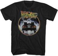 Back To The Future Out Of Time Adult T Shirt