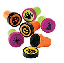 Pack of 6 Halloween Self Ink Stampers Great Party Bag Fillers