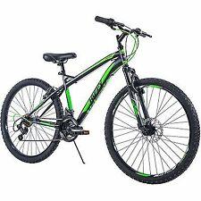 26 Inch Huffy Men's Nighthawk  Mountain Bike  Black And Green