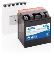 Batterie moto Exide YTX14AH-BS ETX14AH-BS 12V 12AH 200A 135X90X165MM
