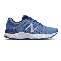 New Balance Womens 680v6 Running Shoes Trainers Sneakers - Blue Sports