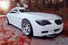 BMW 6-Series E63 E64 Matte Black Kidney Euro Sport Front Hood Grill M M6 04-10