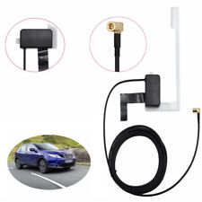 Digital Universal Car Window Glass Mount Active DAB Antenna Radio Aerial Cable.