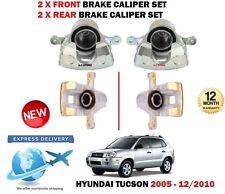 FOR HYUNDAI TUCSON 2.0 CRDI 2.7 2.0i 2005-2010 2X FRONT + 2x REAR BRAKE CALIPER