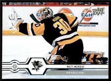 2019-20 UD Series 1 Base #103 Matt Murray - Pittsburgh Penguins