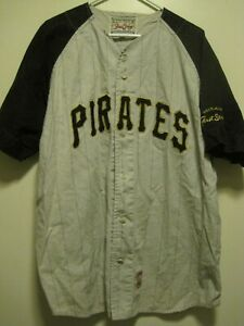 VTG Pittsburgh Pirate MIRAGE FIRST STRING/Cooperstown Collection SZ L JERSEY1960