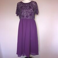 Asos, Maternity Dress, UK 14, Formal Occasion, Fit And Flare, 100% Polyester