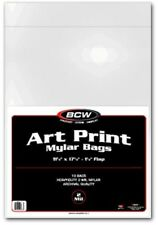Case of 150 Bcw 2 mil Art Print Mylar Bags - 11.5 X 17.5 archival 11x17 sleeves